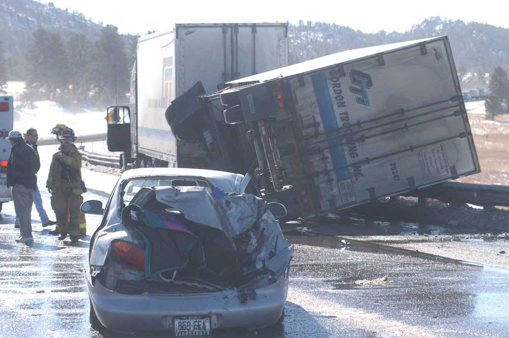 Semi Scene Truck and Commercial Vehicle Accidents