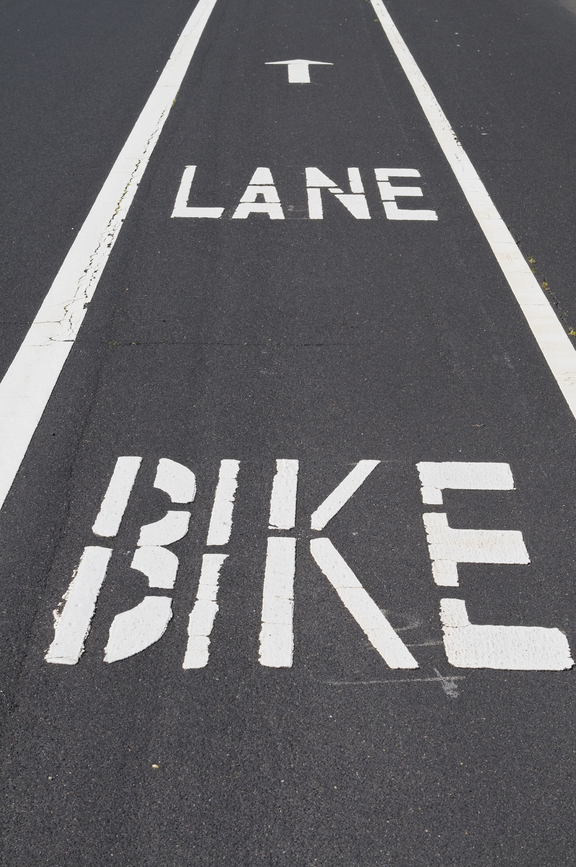 bike lane on the road