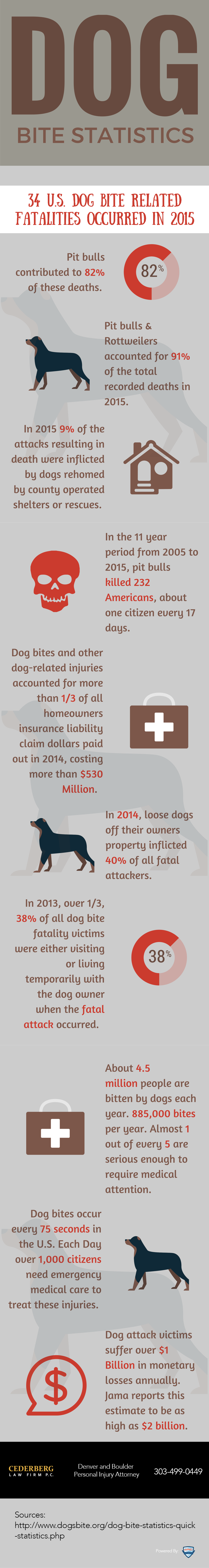 Important Facts about Dog Bites for National Dog Bite Prevention Week [Infographic]